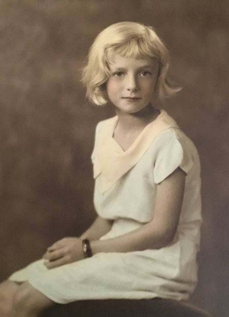 My Great Aunty Lucy Cartland, born in London England in 1918