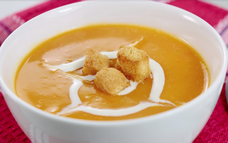 Spicy Pumpkin Soup, Montreal Grandma, Rhonda Massad, Fall Recipe, Easy Soup Recipe, Pumpkin Recipe, Autumn Soups, Healthy