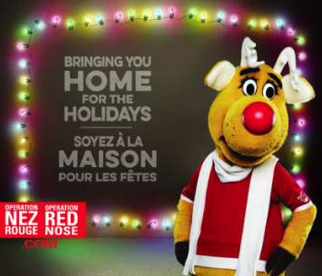 Operation Red Nose (Nez Rouge),2016 holiday season, ChristmasParties, Road Safety, Rhonda Massad, Montreal Grandma, Grandparents