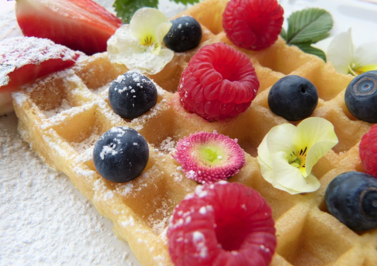 Elaine's Waffles, Breakfast, Brunch, Waffles, Rhonda Massad, Montreal Grandma, Grandkids, Healthy Breakfast, Entertaining, Week-End breakfast